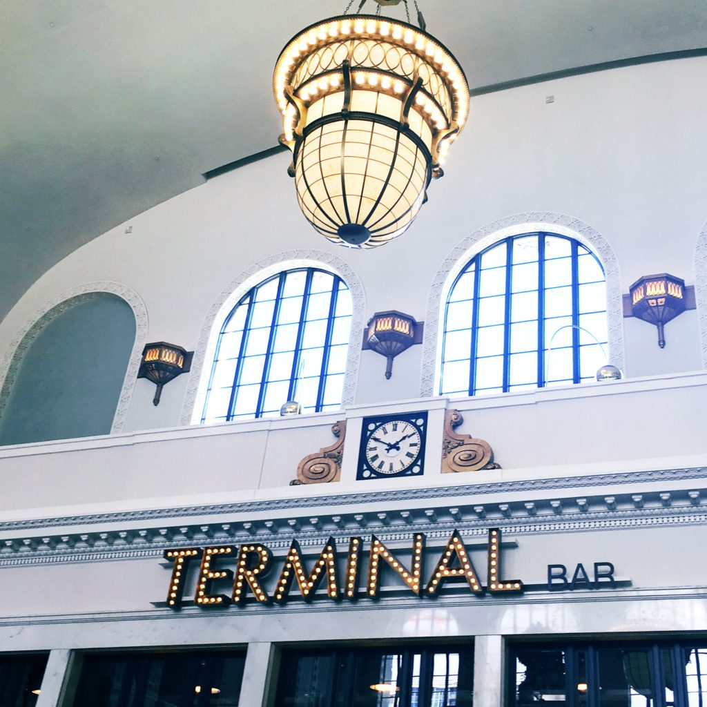 Terminal Bar inside Union Station in Denver, CO.