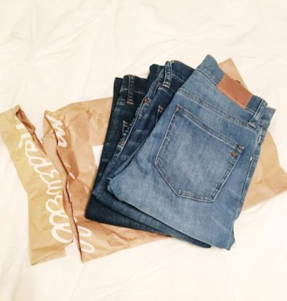 My trick to getting every new pair of Madewell jeans I buy for $20 off! It's the perfect opportunity to clear space in your closet and help the community!
