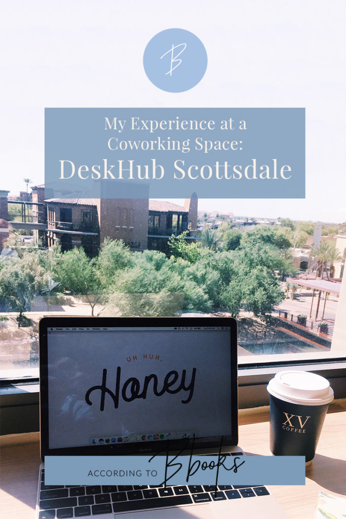 This summer I tested out a coworking space in Scottsdale called Deskhub. Read the pros and cons of my experience and why you should test one out!