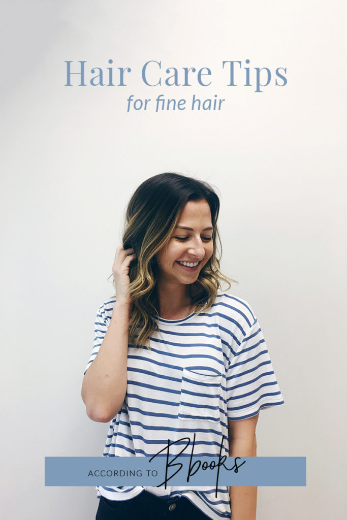 Hair Care Tips For Fine Hair - how to care for fine hair to prevent breakage and encourage growth!