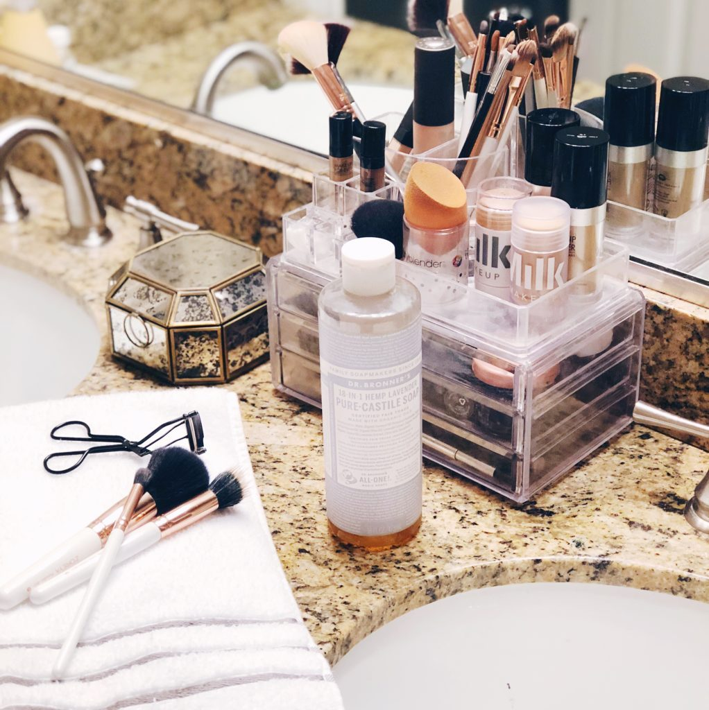 d279f1b91a011f The Cheapest Way To Clean Makeup Brushes Using Dr Bronner S Castile Soap