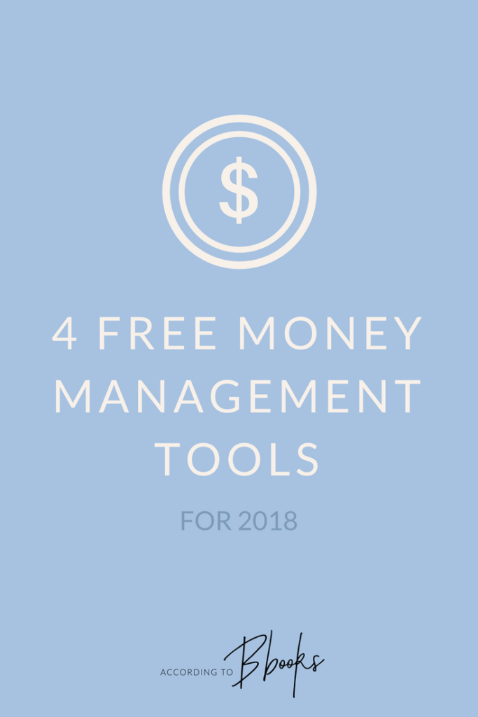 Check out 4 of my favorite free tools I've been using to save and manage my money in 2018!