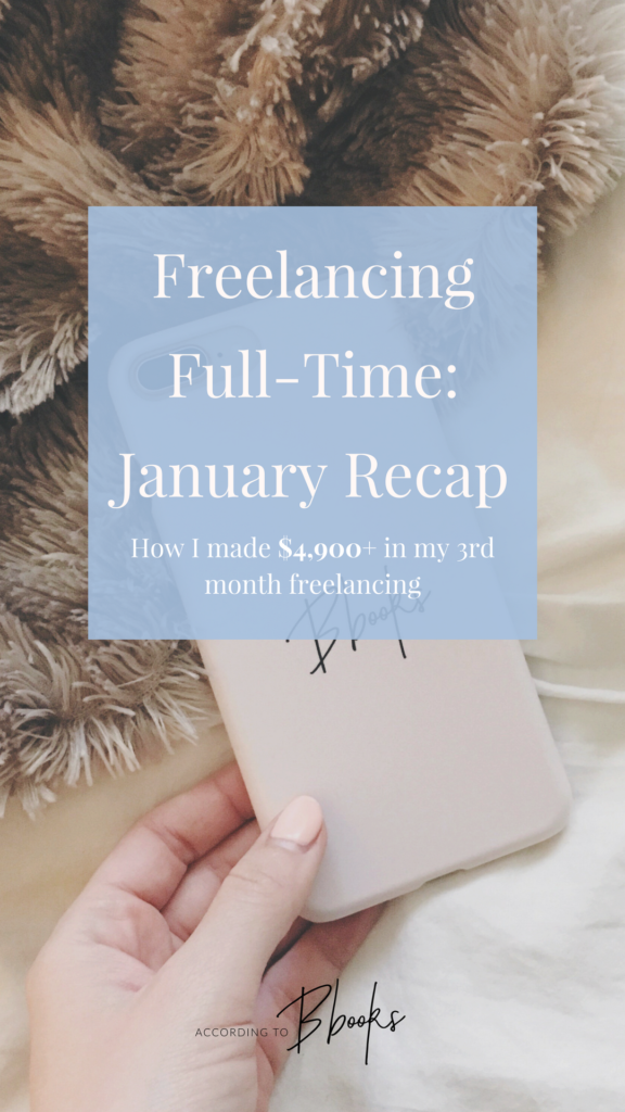 I have now been freelancing full-time for 3 months! I took my first vacation, saw a huge increase in organic traffic to my blog, and talk about monthly income.