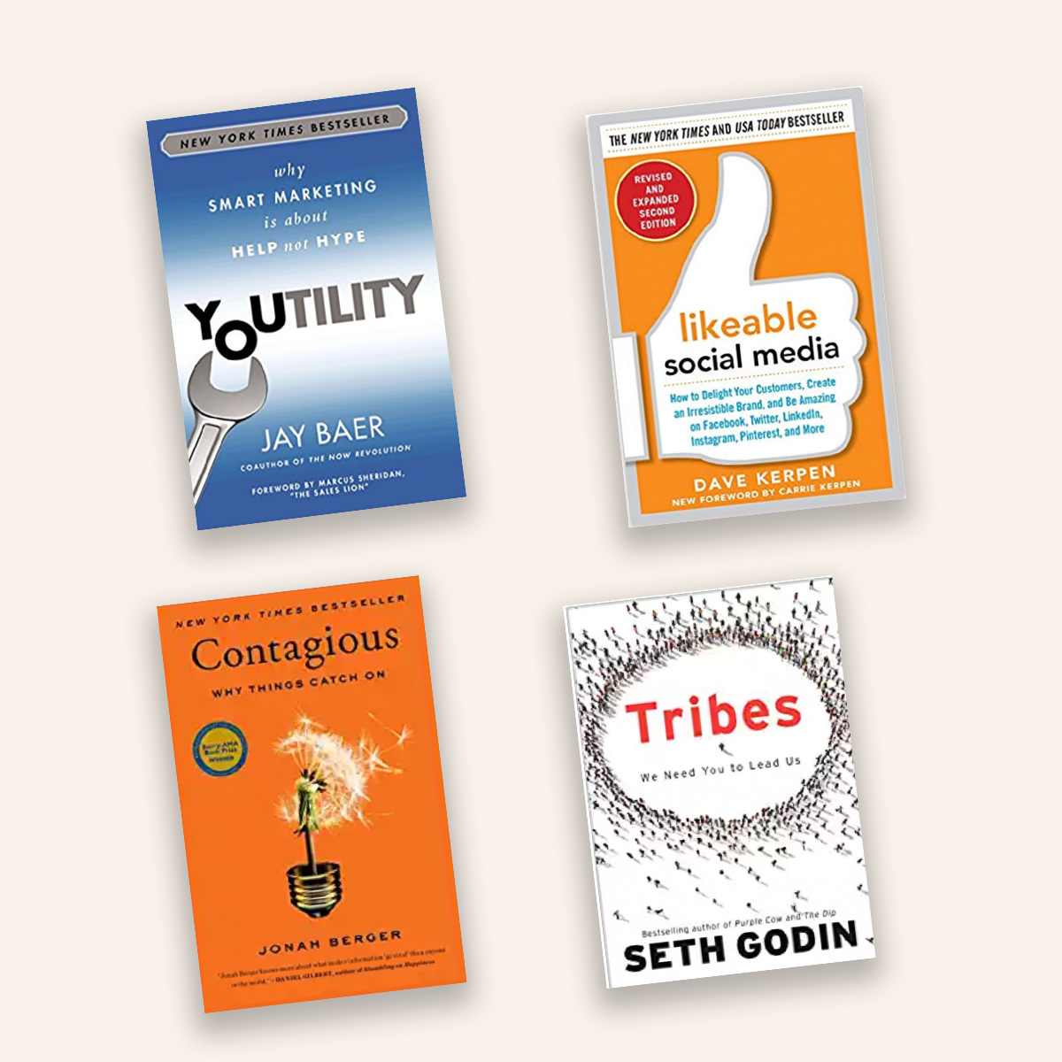 4 Timeless Books for Marketers