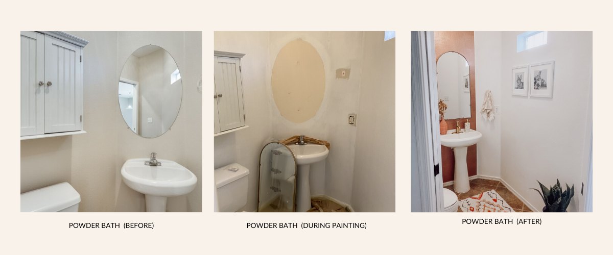 Affordable Powder Bathroom Update