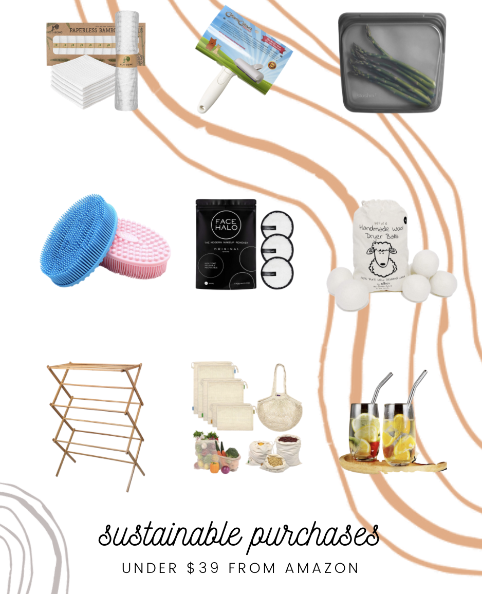 sustainable purchases you can make on amazon